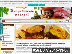 Miniaturka domeny zaopatrzeniemasarni.pl