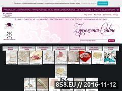Miniaturka domeny zaproszenia-online.com