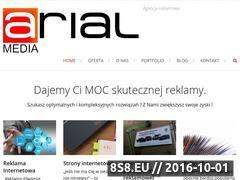 Miniaturka domeny zaproszenia.arial-media.pl