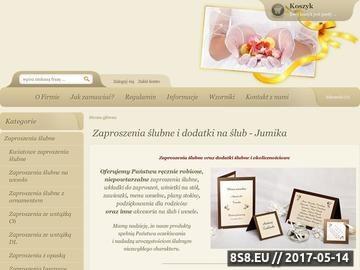 Zrzut strony Zaproszenia ślubne i dodatki na ślub i wesele