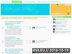 Miniaturka domeny www.zapytajfarmaceute.pl