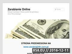 Miniaturka domeny www.zarabiaj24h.wordpress.com