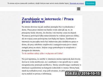 Zrzut strony Zarabianie przez Internet