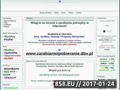Miniaturka domeny zarabianieipobieranie.dbv.pl