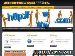 Miniaturka domeny www.zarabianiewsieci.jcom.pl