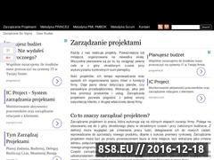 Miniaturka domeny zarzadzanieprojekt.pl