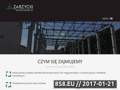 Miniaturka domeny www.zarzycki-konstrukcje.pl
