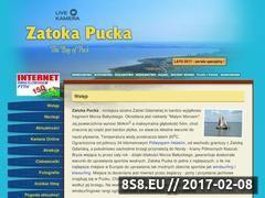 Miniaturka domeny www.zatokapucka.pl
