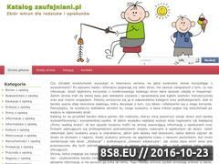 Miniaturka domeny www.zaufajniani.pl
