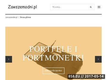 Zrzut strony Sklepy internetowe z modną odzieżą męską