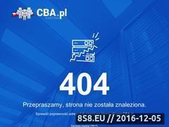 Miniaturka domeny zbierajpunkty.cba.pl