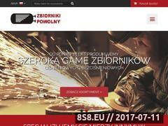 Miniaturka domeny www.zbiorniki-powolny.com.pl