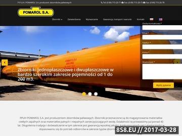 Zrzut strony Zbiorniki paliwowe
