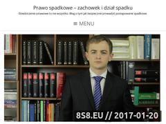 Miniaturka domeny zbyciespadku.pl