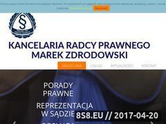 Miniaturka domeny www.zdrodowski.com.pl