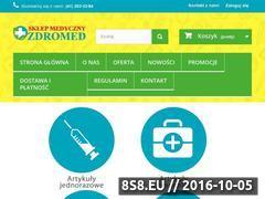 Miniaturka Sklep medyczny Zdromed (www.zdromed.pl)