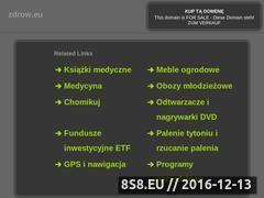 Miniaturka domeny zdrow.eu