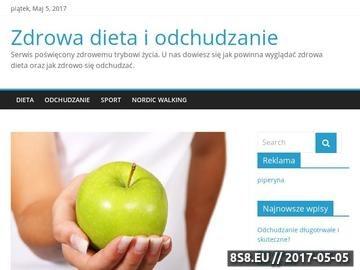 Zrzut strony Poradnik zdrowej diety