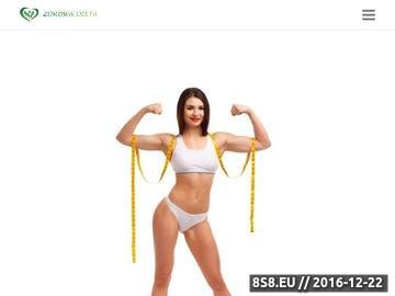 Zrzut strony Dieta białkowa