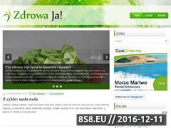 Miniaturka Blog o zdrowiu dla zabieganych (zdrowaja.pl)
