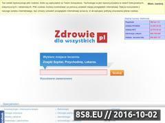 Miniaturka domeny www.zdrowiedlawszystkich.pl