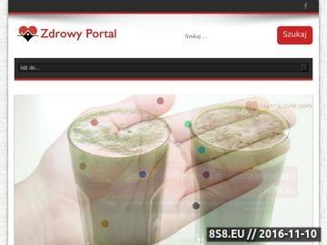 Zrzut strony Zdrowy portal