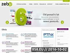 Miniaturka domeny zebu.pl
