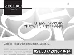 Miniaturka domeny www.zecero.pl