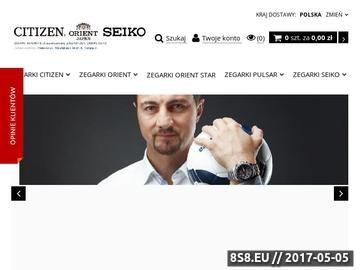 Zrzut strony Zegarki-Japonskie.pl - Zegarki Seiko