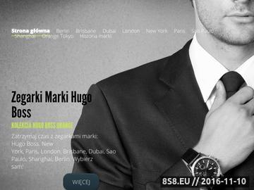 Zrzut strony Zegarki Hugo Boss