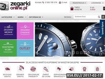 Zrzut strony Zegarki online