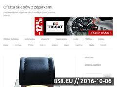 Miniaturka domeny www.zegarkisklep.com.pl
