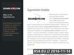 Miniaturka domeny zegarmistrz-krakow.com
