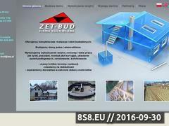Miniaturka domeny zet-bud.pl