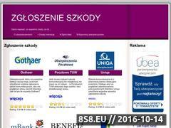Miniaturka domeny zgloszenieszkody.com.pl