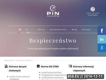 Zrzut strony Przetwarzanie danych osobowych