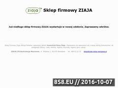Miniaturka domeny www.ziaja-sklep-warszawa.pl