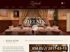 Miniaturka domeny www.zielnikcafe.pl