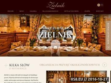 Zrzut strony Restauracje w Warszawie