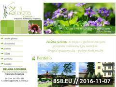 Miniaturka domeny www.zielona-sceneria.pl