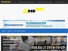 Miniaturka domeny www.zielonaczapla.pl