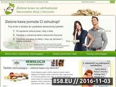 Miniaturka domeny zielonakawa-odchudzanie.pl