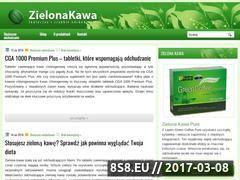 Miniaturka domeny zielonakawa.net