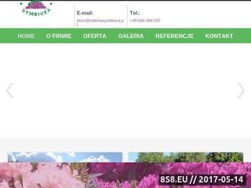 Zrzut strony Kompleksowe usługi ogrodnicze