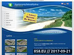Miniaturka domeny www.zielonawydma.pl