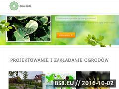 Miniaturka domeny www.zielone-studio.pl