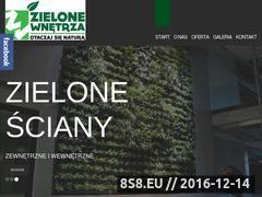 Miniaturka domeny zielone-wnetrza.pl