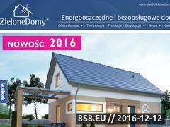 Miniaturka domeny zielonedomy.com.pl