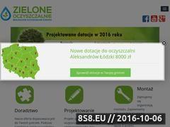 Miniaturka domeny www.zieloneoczyszczalnie.pl