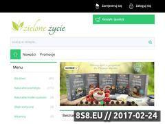 Miniaturka domeny zielonezycie.pl